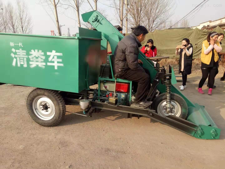 养殖场专用清粪机 柴油三轮车载式清粪车