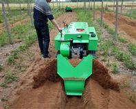 果園開溝施肥機 大馬力旋耕機 自走開溝機