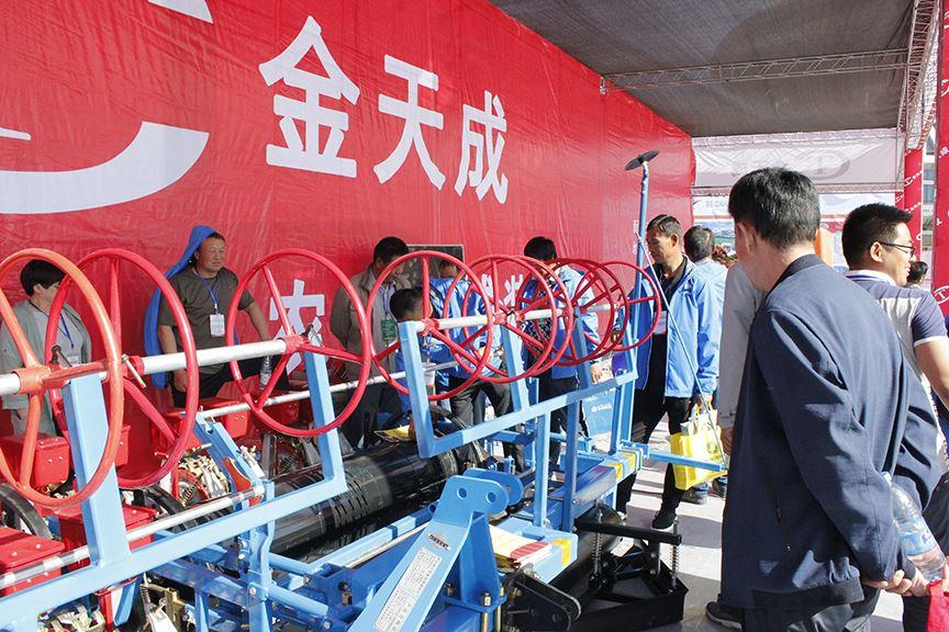 金天成农机:南疆农机的生产基地