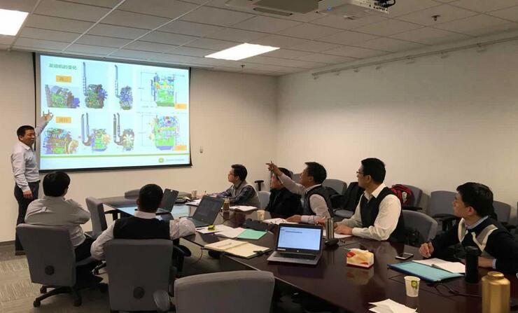 农业农村部农业机械试验鉴定总站鉴定二室赴约翰迪尔(天津)有限公司开展调研