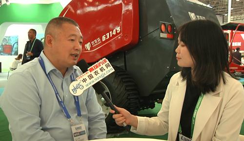 2018国际农机展:专访瑞丰农牧业总经理王健