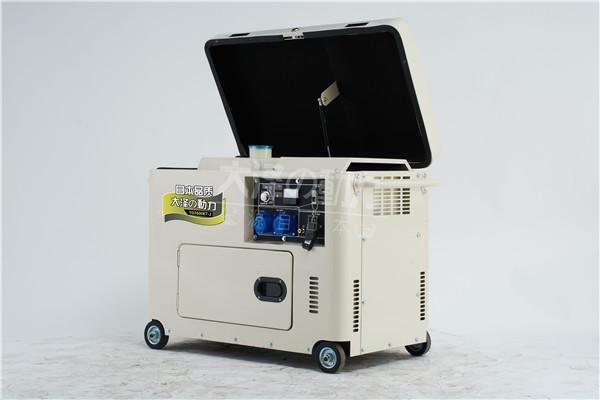 6千瓦静音柴油发电机图片