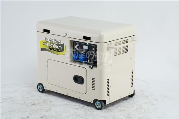 7千瓦静音柴油发电机图片
