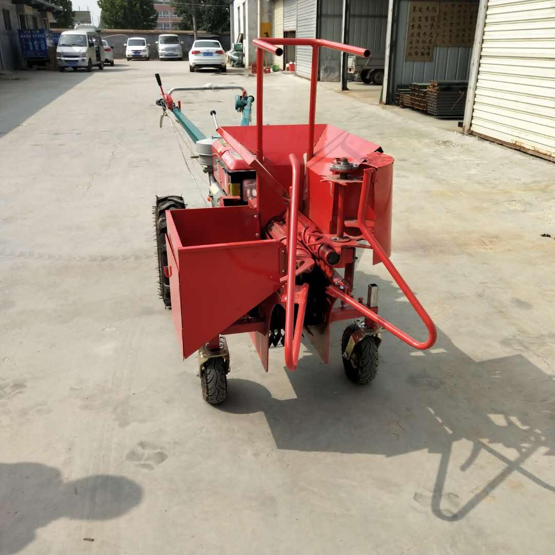玉米秸秆收割机拖拉机带不同宽幅粉碎机