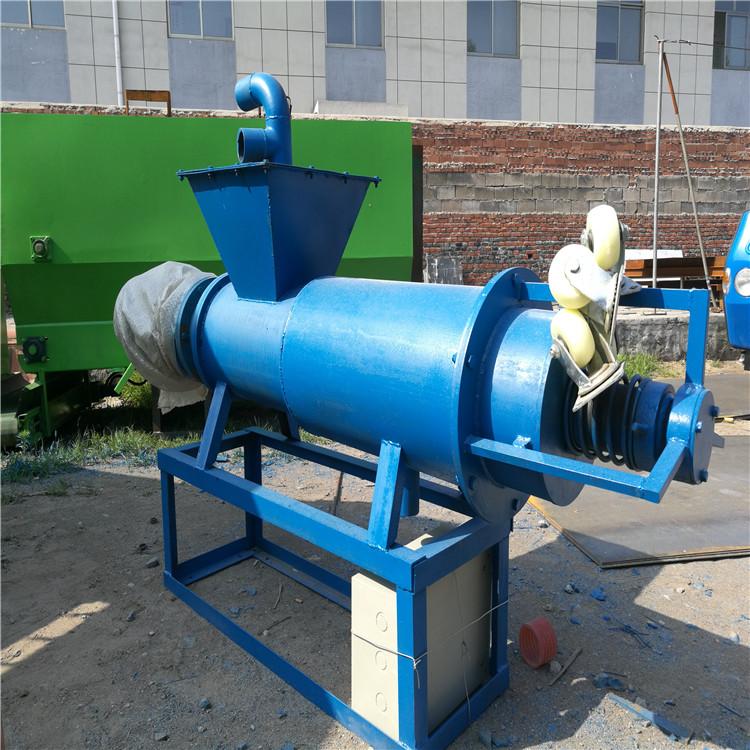 六安养猪场粪便处理机 加长型固液分离机