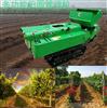 链板履带式农用开沟机 果园深度施肥旋耕机